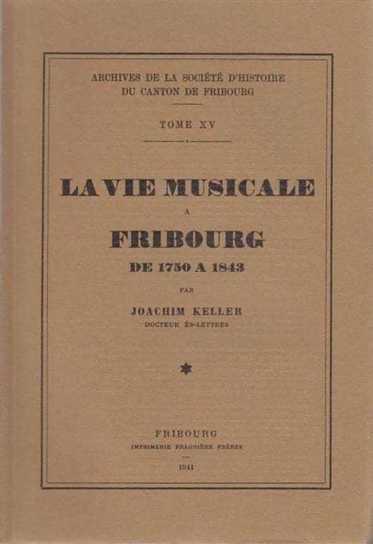 AA15 La vie musicale à Fribourg