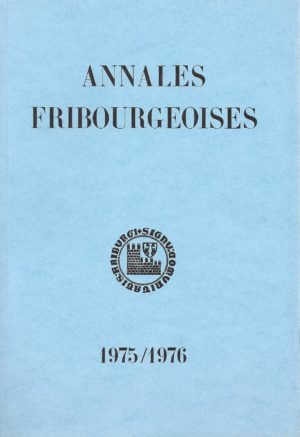 AF53 Annales fribourgeoises 1975-1976