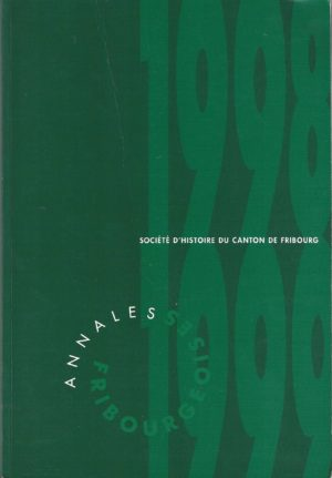 AF63 Annales fribourgeoises 1998-1999